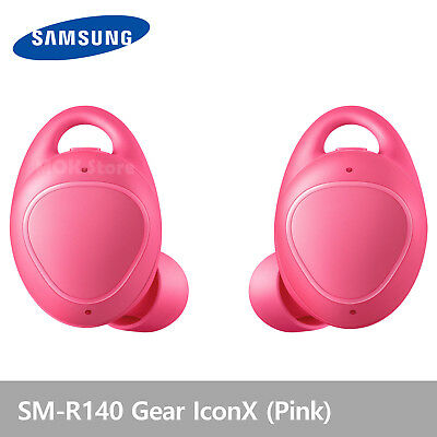 Samsung SM-R140 Gear IconX  Wireless Fitness Earbuds Headphones New 2018 - Pink