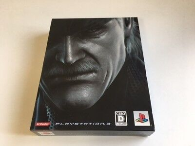 PS3 Playstation 3 Metal Gear Solid 4 Guns of the Patriots Limited Japan z4202