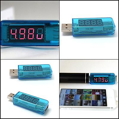 USB Charger Doctor -In-line Voltage and Current Meter Detector Cable Tester Tool