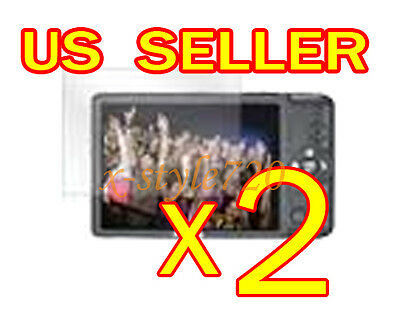 2x Canon ELPH 100HS Clear LCD Screen Protector Cover Guard Shield Film