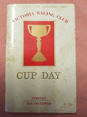 1965 Melbourne Cup Race Light Fingers Barts First Cup