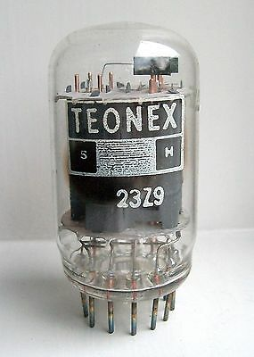 23Z9 Vacuum Tube Radio Valve Brand New Vintage Old Stock Cleaned And Tested
