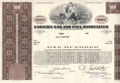Eastern Gas and Fuel Associates 1968 USA