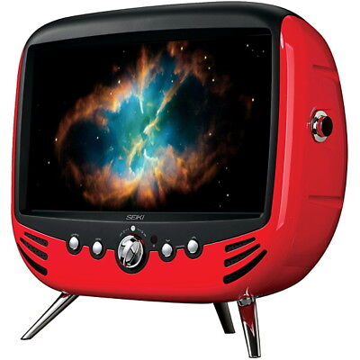 """SEIKI 22"""" 56cm Retro Full HD LED TV & DVD Combo with Subwoofer"""
