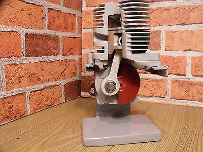 ENGINE, sectioned, Stationary Engine. Mancave, Cut away, Desk toy, Steampunk, .