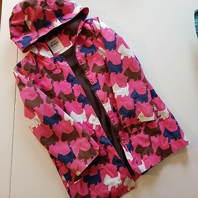 mini boden fully fleece lined girls coat aged 11-12yrs