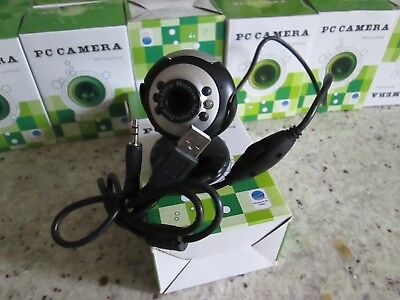 PC Camera Webcam Camera & MIC Microphone,Job Lot 33 cameras 4 PC Laptop Skype UK