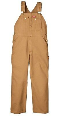 Dickies Men's Premium Insulated Bib Overall  Super-reinforced Back Pockets