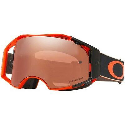 NEW OAKLEY AIRBRAKE DUNGEY FASTLINES with PRIZM BLACK LENS MX Goggles Moto Gear