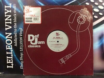 "LL Cool J I Can't Live Without My Radio 12"" Single Vinyl 9846570 Rap HipHop 80's"