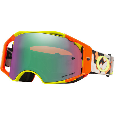 NEW OAKLEY AIRBRAKE THERMO CAMO ARMY with PRIZM JADE LENS MX Goggles AirBrake