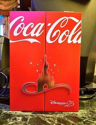 Coca Cola 25 Years Disney Paris Box with 2 Bottles Limited 500 SOLD OUT