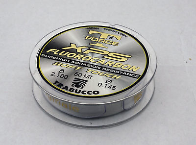 Trabucco T Force XPS Fluorocarbon 50m Spools Pole Fishing Hooklength