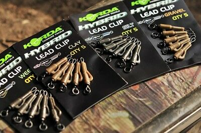 KORDA Lead Clips, Tail Rubbers, Anti-Tangle Sleeves and Shrink Tube