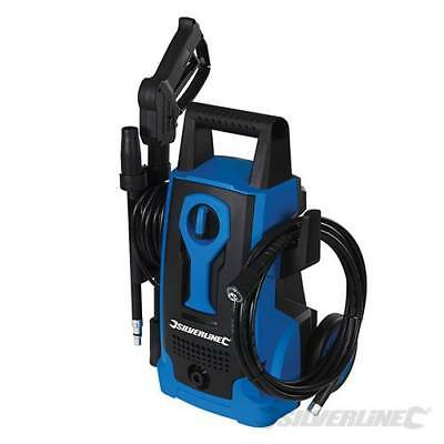 Pressure Washer 5m Hose Jet wash Power washer silverline 1400w 105 bar