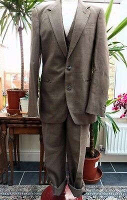 || Vintage || Mens ||1960s || John Collier || 3 Piece Suit ||