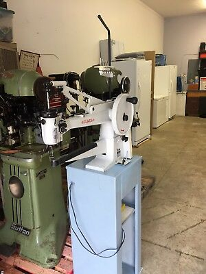 Claes sewing machine long arm patcher shoe boot repair equipment