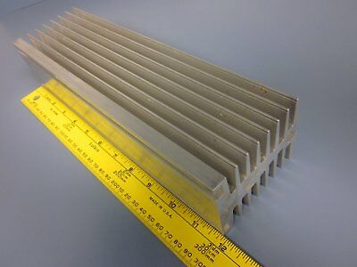 Large Big Aluminum Heat sink Radiator L 300mm x W67mm x H90mm