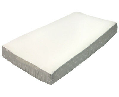 The Peanut Shell Little Star Changing Pad Cover - Grey