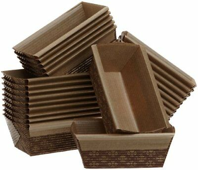 Honey-Can-Do 2590 Mini Loaf Pan, 25-Pack, 4-Inches x 2-Inches x 2-Inches, New