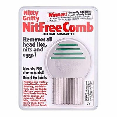 Nitty Gritty Nit Free Comb 1 2 3 6 12 Packs