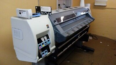 "TWO!!! HP LATEX L25500 60"" WIDE FORMAT PRINTERS  signs, vehicle wraps, banners,"