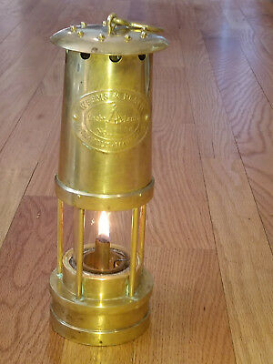Weems & Plath Brass Oil  Yacht Lamp Lantern