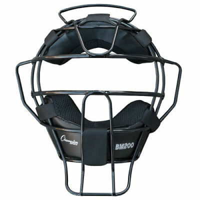 NEW Champion Sports BM200 18 oz Ultra Lightweight Umpires Face Mask w/harness