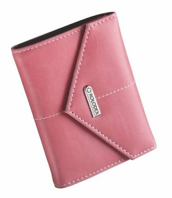 Rolodex Pink Ribbon Business Card Case, 36-Card (1734451), New