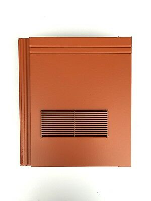 Roof Tile Vent To Fit Redland Stonewold II Mk2 | Terracotta Smooth | 10 Colours