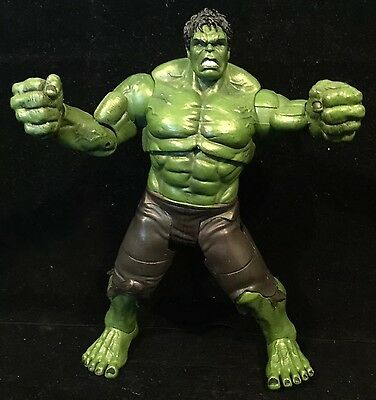 "Marvel Comics 9"" Hulk Film Action Figure Heavy Great Condition Toy For Sale"