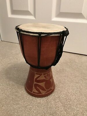 Hand Carved African Djembes Bongo Drum, Percussion Kit