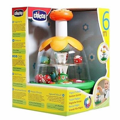 Chicco Rainbow Spinner Ages 6 Months+ Fantastic Traditional Fun & Skill Learning