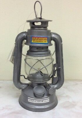 Mini Oil Burning Hurricane Lantern Can Be Used With Citronella Oil