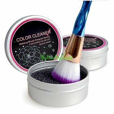 Brush Cleaner Eyeshadow Sponge Shadow Switch Solo Color Makeup Remover Dry Box