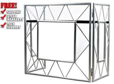 American DJ ADJ Pro Event Table Lightweight Compact DJ Booth / Truss Facade