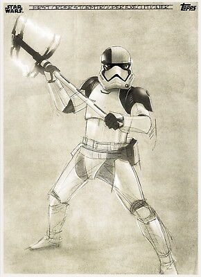 THE LAST JEDI GRAPHITE FIRST ORDER STORMTROOPER EXECUTIONER Star Wars Digital