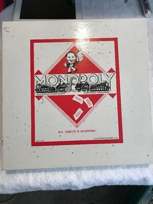 61 VIntage German/Dutch Monopoly NEW Board Game - Parker N.V. Smeets & SCHIPPERS