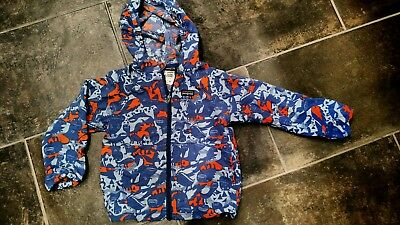 Patagonia boys lightweight jacket size 5 years layering water resistant...