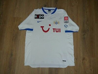FC Zurich Switzerland #5 Margairaz rare home match worn shirt size XL