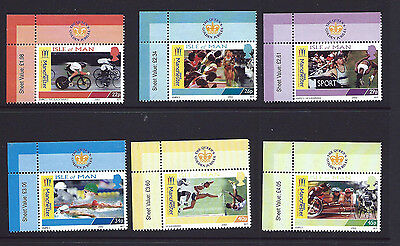 ISLE OF MAN (IOM) 2002 - MANCHESTER COMMONWEALTH GAMES  - Margin Set Mint - MNH