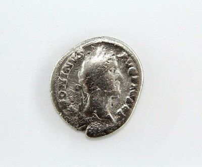Roman Silver Coin Of Augustus. Unresearched. Possibly Nike On The Reverse.  G012
