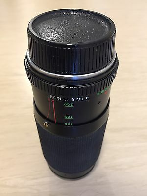 ML ZOOM 80-200mm 1:4 YASHICA LENS Made in Japan
