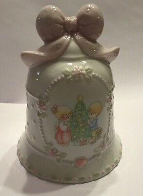 Precious Moments - Avon Exclusive - Porcelain Bell  Christmas Bell - 1997