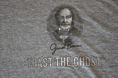 Jim Beam Jacobs Ghost T Shirt MEN'S SIZE X-LARGE (XL) ONLY New never used