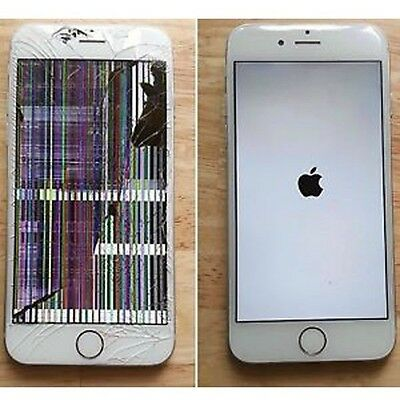 Apple iPhone 6s Cracked LCD and Digitizer Screen Repair Service OEM