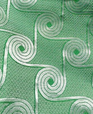 NOS Vintage 1930's ART DECO Streamline Upholstery Fabric UNUSED 8 YDS W D TEAGUE