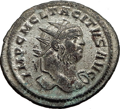 TACITUS Original 276AD Rome Genuine Authentic Ancient Roman Coin Goddess i65434