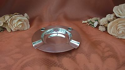 The Alex & Clark Company Ltd London Silver Plated Ashtray
