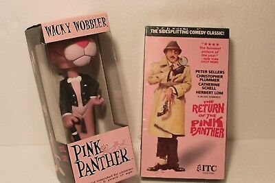 Pink Panther Funko Wackey Wobbler and Pink Panther Movie